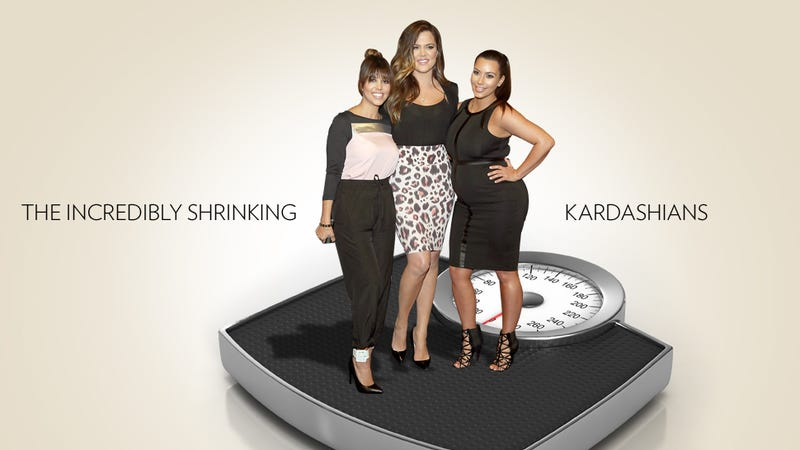 Illustration for article titled By the Numbers: The Kardashians Have Collectively Lost 431 Pounds