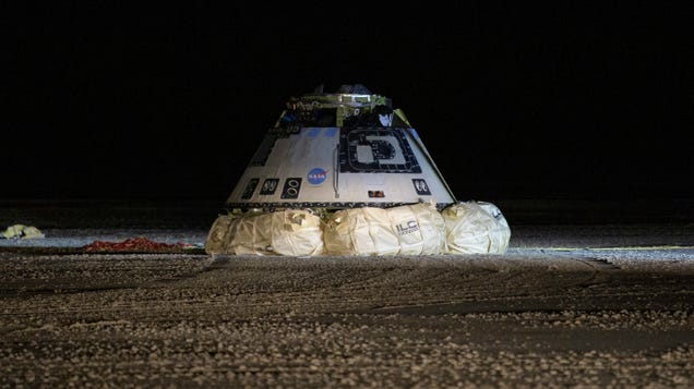 Boeing Says It Will Redo Critical Unmanned CST-100 Starliner Test It Borked Last Year