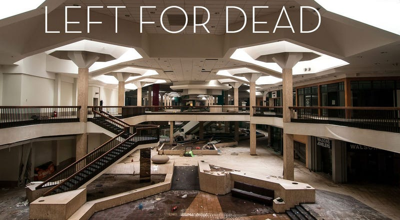 Illustration for article titled Abandoned Malls Look Like Sad, Empty Video Games