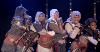 Illustration for article titled Assassin's Creed Musical Is Charmingly Dorky