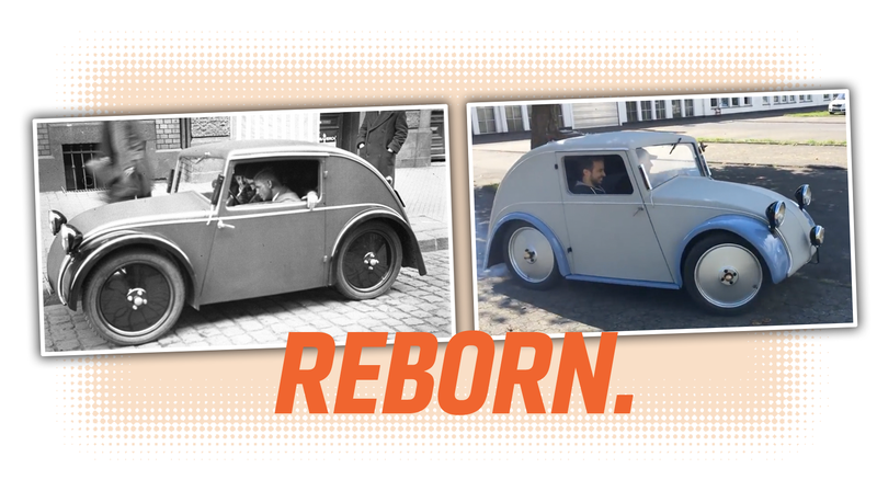 Illustration for article titled The 1933 Proto-Beetle Designed by a German Jew Who Was Erased From History Has Been Restored