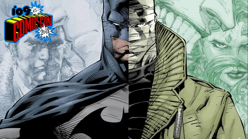 Batman and Hush, mortal enemies.