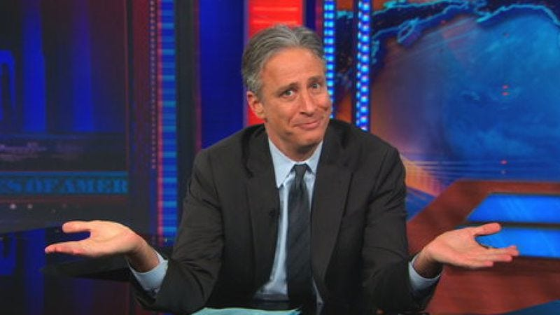 Illustration for article titled Jon Stewart's announcement dropped Viacom's stock by $350 million