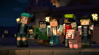Illustration for article titled Minecraft: Story Mode Looks Charming
