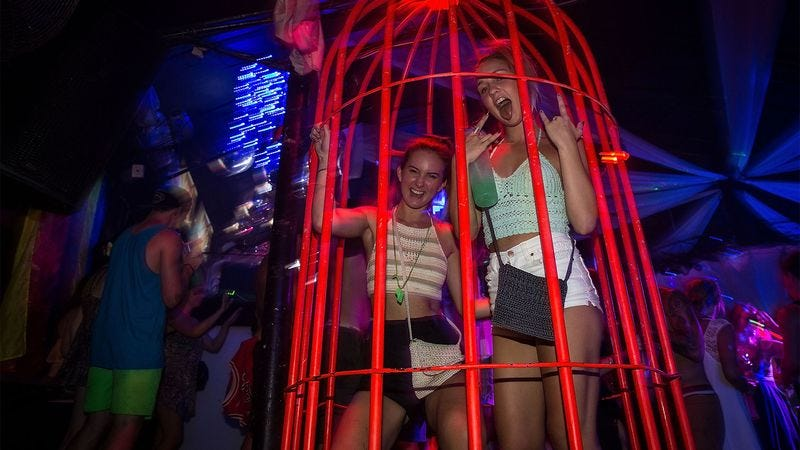 Illustration for article titled Dance Cage Recidivism Rates At All-Time High Within American Club Scene