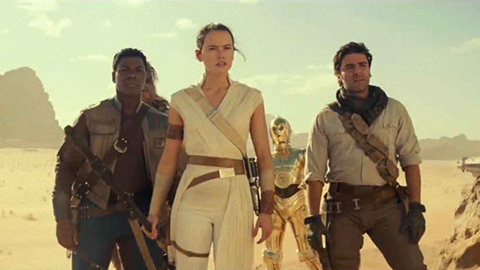 Breaking Down the Ominous Portents of the New Star Wars: The Rise of Skywalker Footage