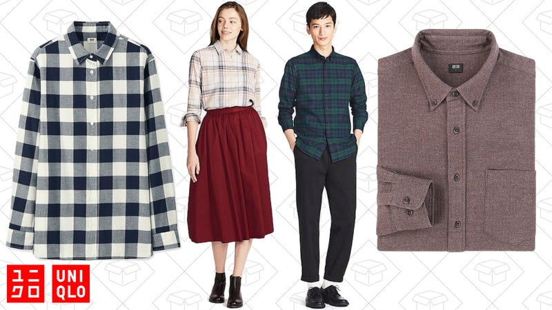$20 Flannels for men and women