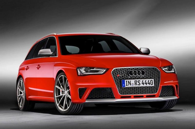 Illustration for article titled 2013 Audi RS4 Avant: First Photos