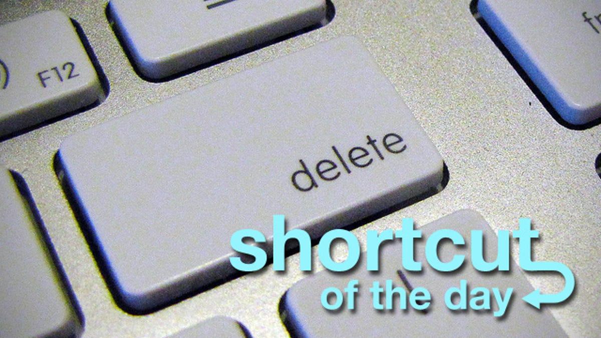 The Mac Os X Delete Key It Goes Both Ways