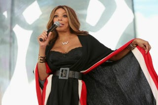 Wendy Williams appears onstage at the Lane Bryant launch of the #PlusIsEqual campaign at Times Square in New York City Sept. 14, 2015.Monica Schipper/Getty Images