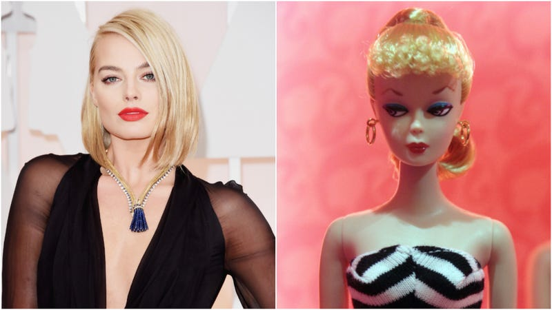 Illustration for article titled Margot Robbie's playing Barbie, ah ah ah yeah