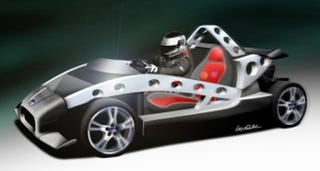 Illustration for article titled New Ultralight Roadster, the GTM 40TR