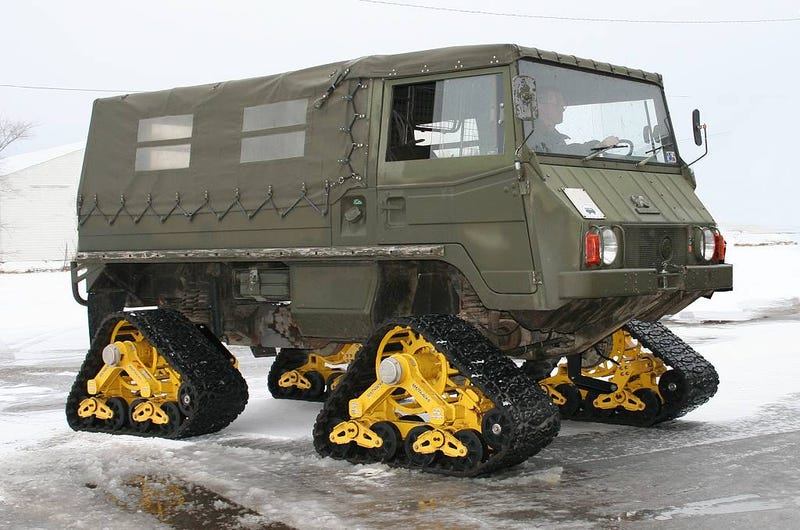 Illustration for article titled What's The Ultimate Vehicle For Conquering The Snow?