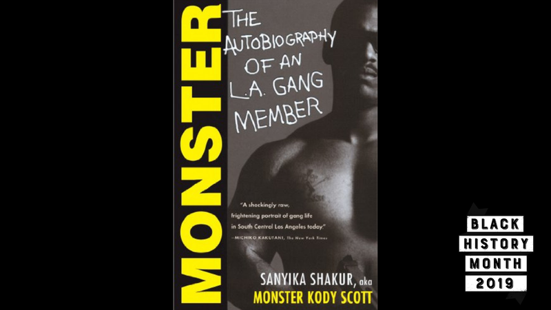 Illustration for article titled 28 Days of Literary Blackness With VSB | Day 6: Monster: The Autobiography of an L.A. Gang Member by Sanyika Shakur