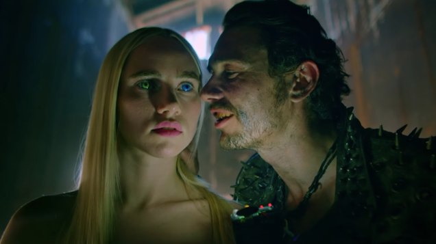 James Franco's tedious post-apocalyptic B-movie Future World is nothing new