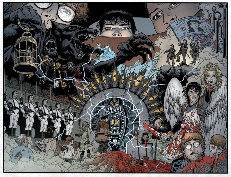 Illustration for article titled Comic Book Wednesdays: Horror Edition Featuring Locke & Key and Revival