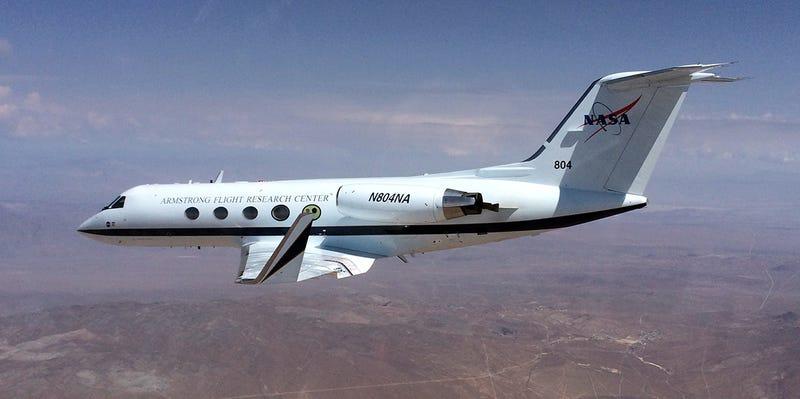 Illustration for article titled La NASA prueba con éxito su sistema de alas transformables para aviones