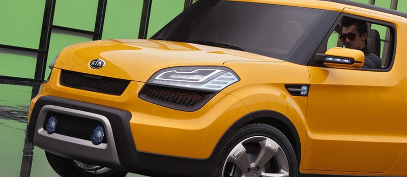 Illustration for article titled Kia Soul'ster Concept: A Korean Geo Tracker