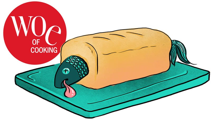 Illustration for article titled Let's Try Joy Of Cooking's Worst Recipes. First Up: Quick Fish Loaf