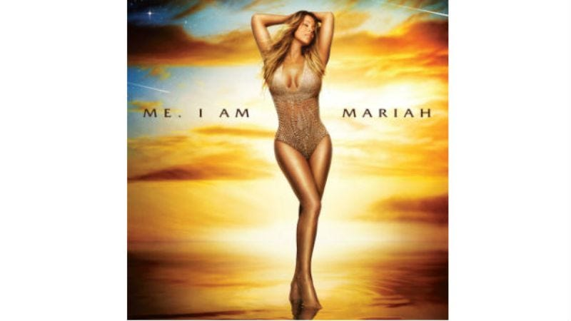 Illustration for article titled Mariah Carey announces insane new album title with insane video