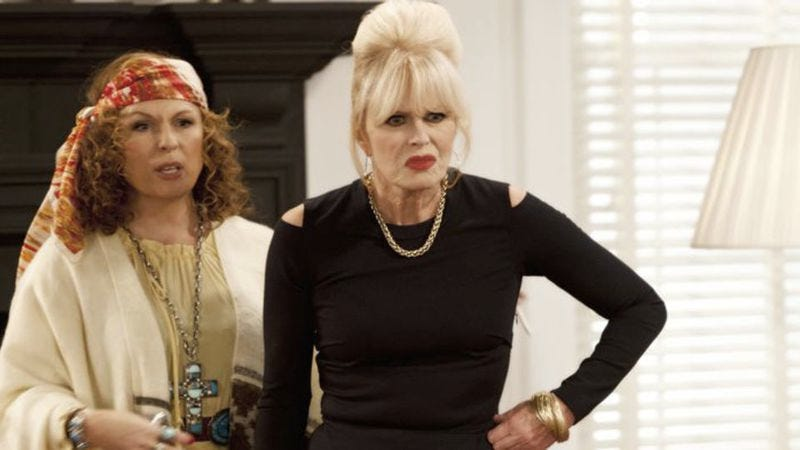 Illustration for article titled That Absolutely Fabulous movie might be coming pretty soon