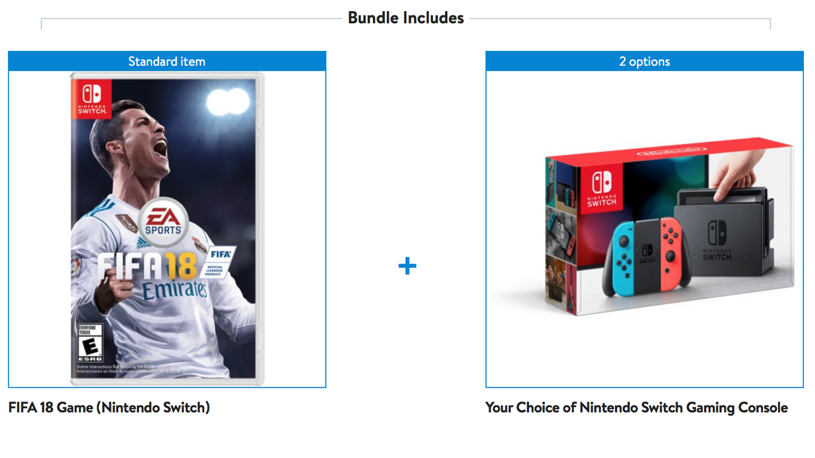 Buy A Nintendo Switch Get Fifa 18 For Free