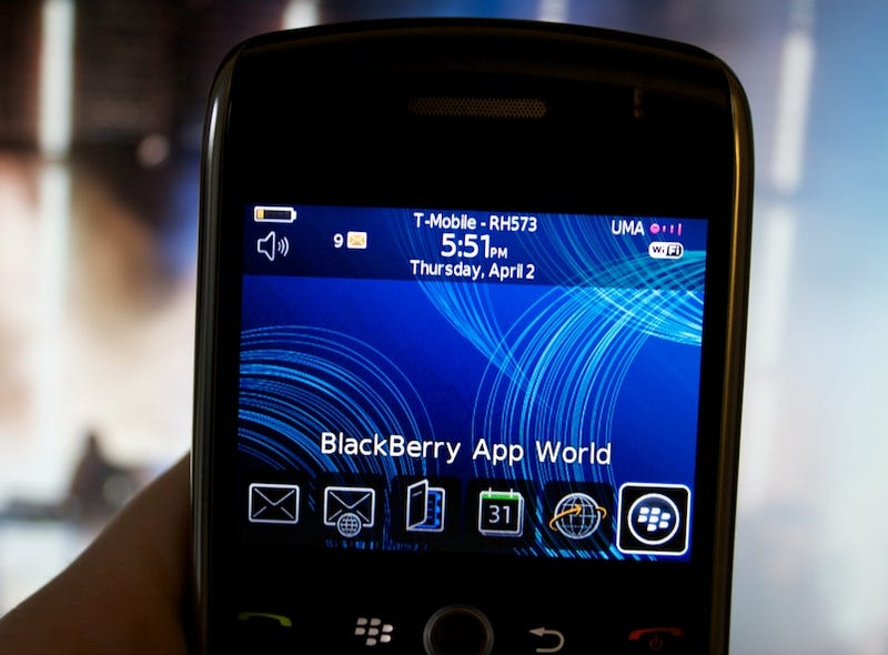 Illustration for article titled BlackBerry App World Tour and Impressions