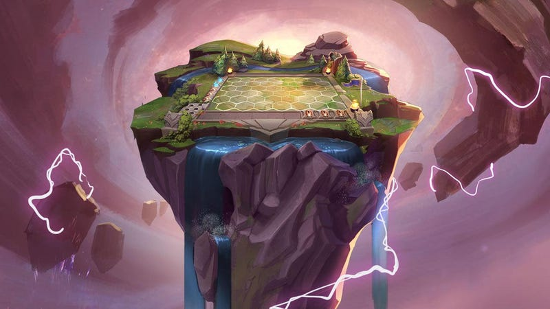 Illustration for article League Of Legends & # 39; The version of Auto Chess has taken over the twitching