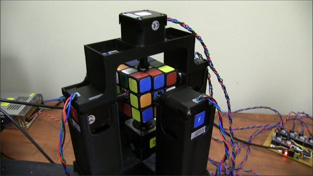 This Robot Can Solve a Rubik s Cube in One Second