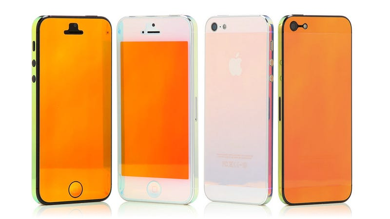 Iridescent Skins Let You Just Tilt To Change Your iPhone's Color