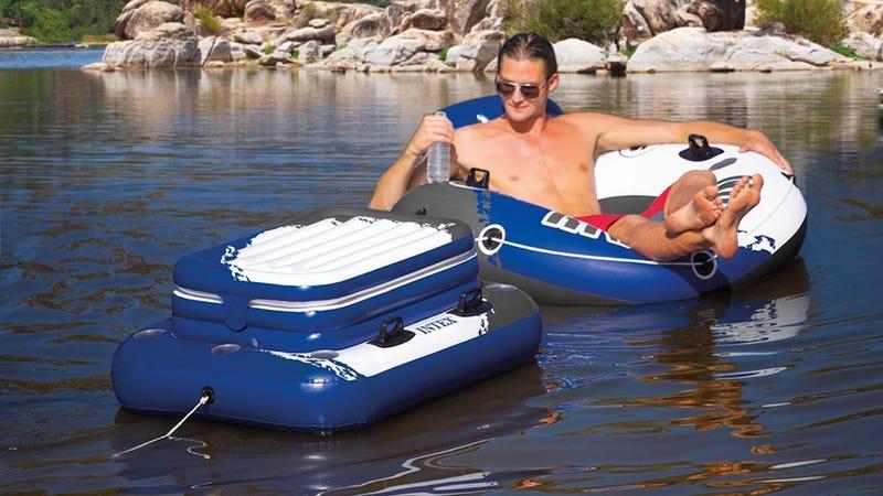 Intex Floating Cooler, $13