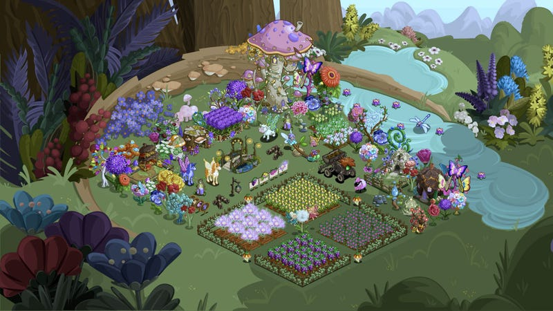 Illustration for article titled The Enchanted Glen Update Goes Live: FarmVille is Magic