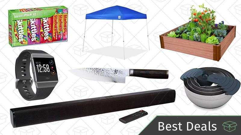 Illustration for article titled Sunday's Best Deals: Fitbits, Sound Bars, Garden Boxes, and More