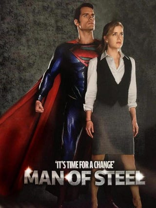 Illustration for article titled New Man of Steel Pic