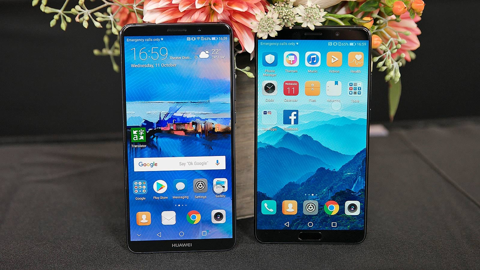 Huawei's Mate 10 Wants to be the Smartest Phone on the Block, But