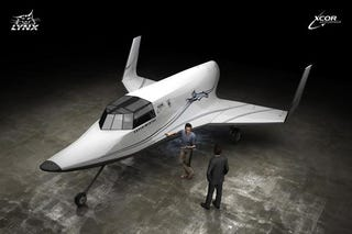 Illustration for article titled XCOR Lynx Bringing Sports Car-esque Travel to Space