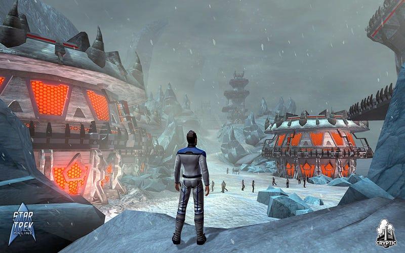 Illustration for article titled New Star Trek Online Screens Beam Down