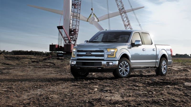 Illustration for article titled Ford Subsidising Shops For 2015 F-150 Aluminum Repairs