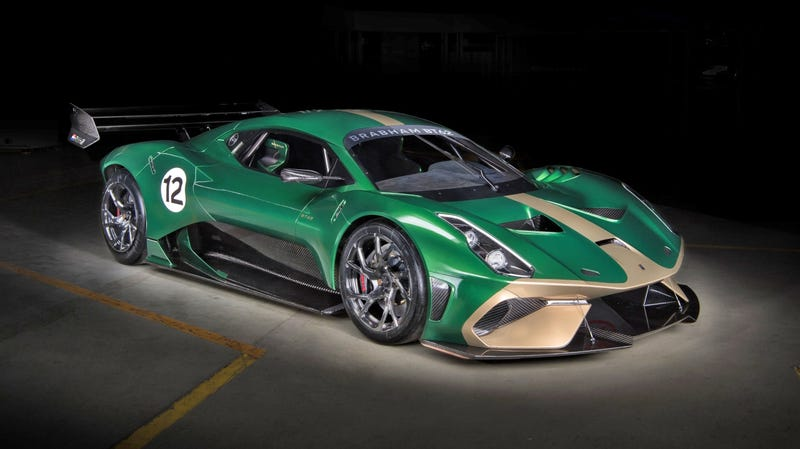 Illustration for article titled Hell Yes You Can Make Your Brabham BT62 Road Legal