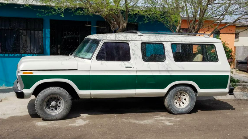 The Mexican Market Ford B 100 Is The Three Door Ford F 150