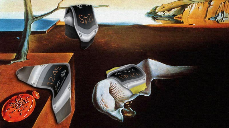 Illustration for article titled Photoshop Contest: Put a Galaxy Gear Into an Iconic Historical Image