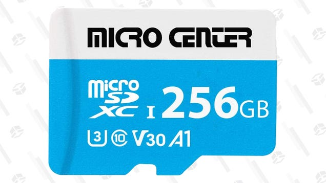 Refresh Your Switch s Memory With a Micro Center MicroSD Card—$9 for 64GB, $16 for 128GB, and $30 for 256GB
