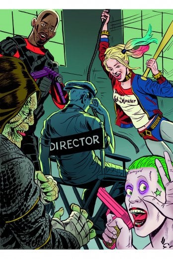 Illustration for article titled 'Suicide Squad's' Secret Drama: Rushed Production, Competing Cuts, High Anxiety
