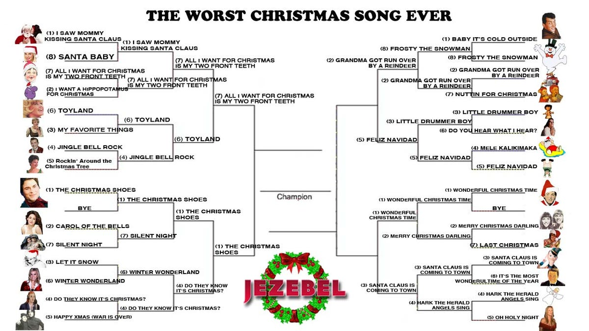 Worst Christmas Song Ever: Let\'s Narrow It Down To The Frightful Four