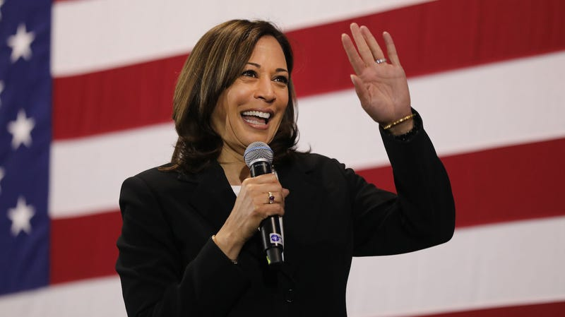 Illustration for article titled Kamala Harris Wants to Fine Companies That Don't Pay Women the Same Wage as Men