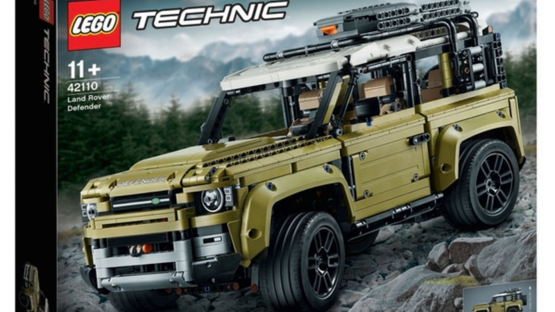 Illustration for article titled Sure Looks Like Lego Leaked a 2020 Land Rover Defender Two-Door