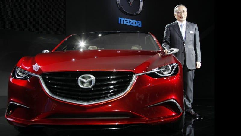 Illustration for article titled Mazda Takeri Concept: Glimpse at the 2013 Mazda 6