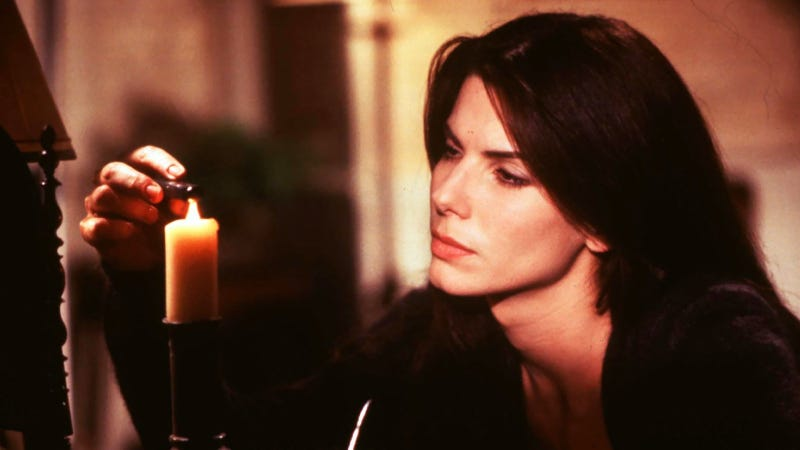 Bullock, book, and candle.