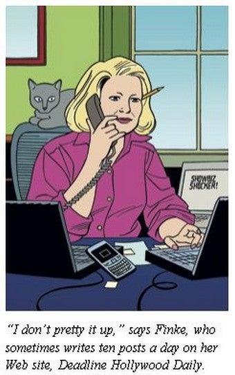 Illustration for article titled Hollywood Heavy Nikki Finke: Victim Of Misogyny, And Misogynist Extraordinaire