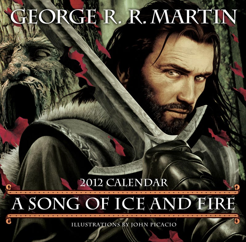 Illustration for article titled Winter is Coming! Count down the days with this gorgeous Song of Ice and Fire 2012 calendar